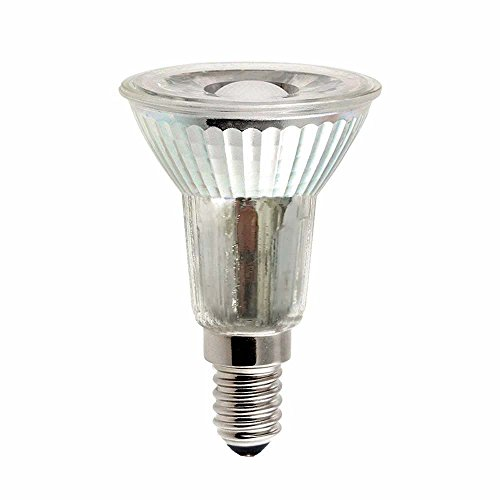 LED Leuchtmittel Glas Reflektor PAR16 5W = 40W E14 420lm JDR warmweiß 2700K Retrofit flood 38° (1 Stück) - 40w Flood