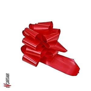 50 st ck rosetten autotiranti rote gro e schleife mit. Black Bedroom Furniture Sets. Home Design Ideas