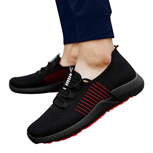 ABsoar Sneaker Canvas Laufschuhe Herren Sportschuhe Mesh Slipper Freizeitschuhe Outdoor Atmungsaktive Schuhe Männer Turnschuhe Wanderschuhe Plattform Schuhe Gym Schuhe,ABsoar