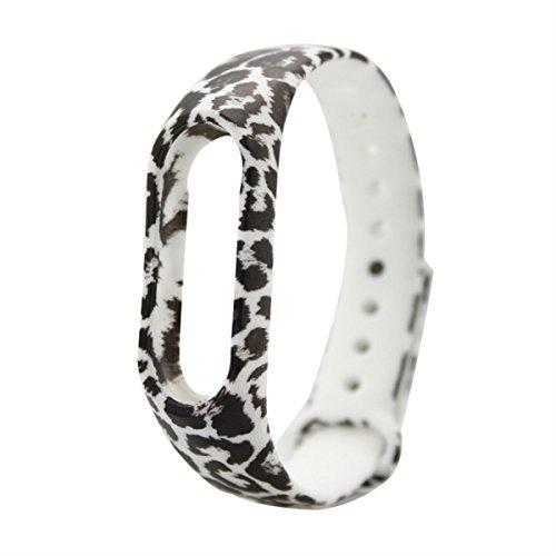 für XIAOMI MI Band 2 ziemlich morden Gummi Silikon intelligenten Uhrenarmband-Bügel Ersatz für Frauen schöner (Ziemlich Bügel)