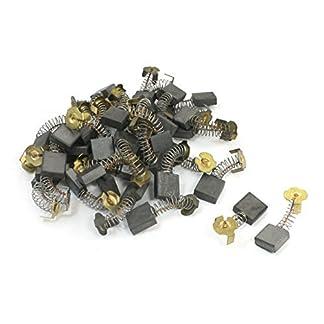 40Pcs 16.7×16.4×6.9mm escobillas de carbón 44 # para Hitachi 180 amoladora angular