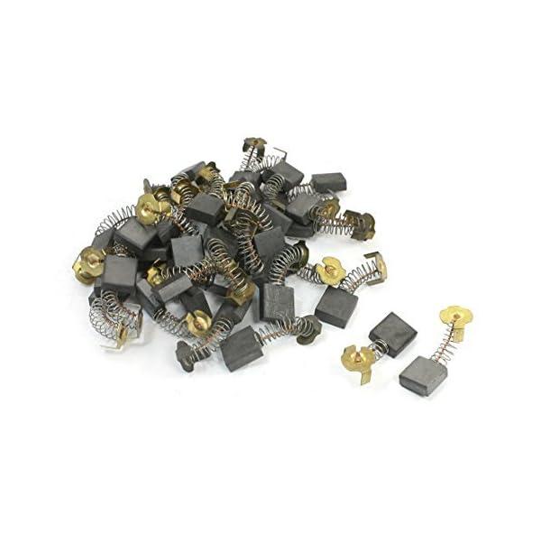 41CMdPZJVdL. SS600  - 40Pcs 16.7x16.4x6.9mm escobillas de carbón 44 # para Hitachi 180 amoladora angular