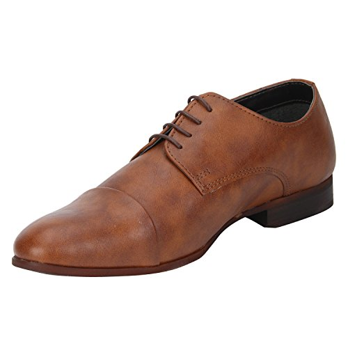 Bond Street by (Red Tape) Men's Brown Formal Shoes - 7 UK/India (41 EU)