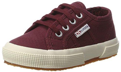 Superga Unisex-Kinder 2750 Jcot Classic Sneaker Rot (dk bordeaux)