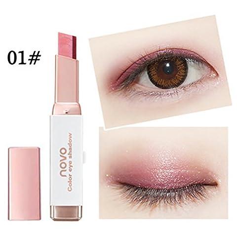 ROPALIA Steigung Doppelt Farben Augen Schatten Stock Augenschminke Bleistift Langlebig