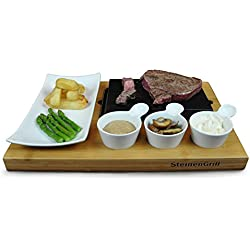 SteinenGrill BERGEN Steak Stein Set