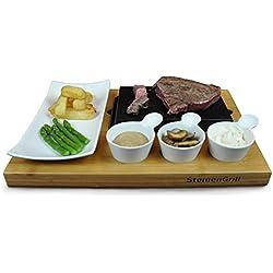 SteinenGrill BERGEN Steak Stein Set