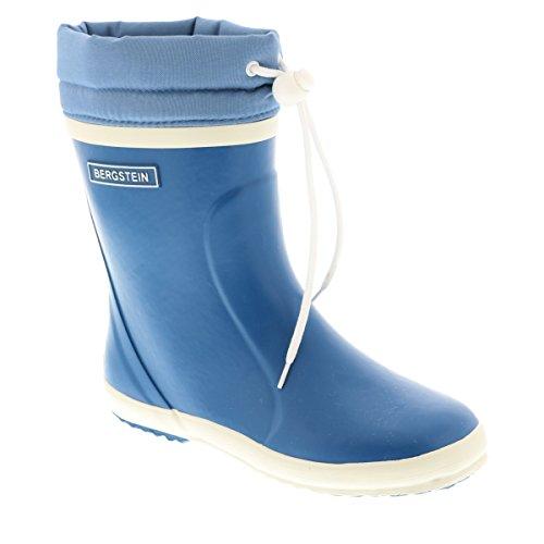Bergstein Winterboot, Bottes de Pluie mixte enfant Bleu jean