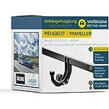 Weltmann Mundo Muñeco AHK Juego Completo Peugeot Traveller Brink Starre Remolque + fahrzeugspezifischer Jaeger Automotive eléctrico