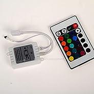 K3 DC 12V LED Light Strip 24 Keys IR Wireless Remote Controller (RGB)