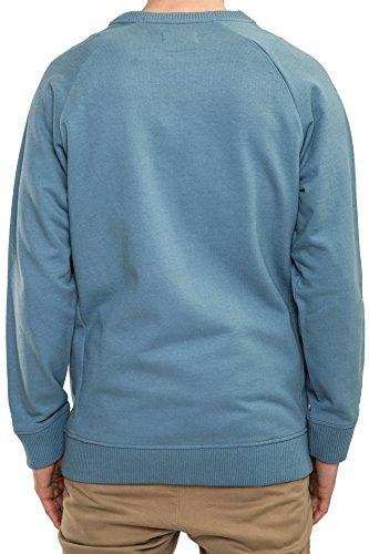 REELL Men Sweatwear Pocket Crewneck Artikel-Nr.1304-013 - 03-021 Province Blue