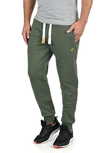 !Solid BennPant Herren Sweatpants Jogginghose Sporthose Mit Fleece-Innenseite Und Kordel Regular Fit, Größe:3XL, Farbe:Climb Ivy Melange (8785)