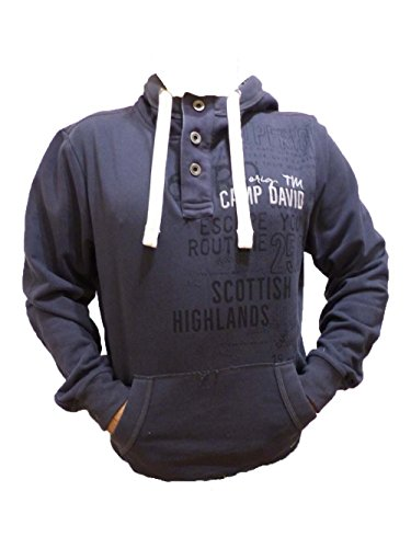 CAMP DAVID SCOTTISH HIGHLAND I CHARCOAL SWEATSHIRT WITH HOOD L (L)