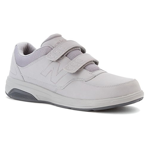 New Balance Men's MW813V1 Walking Shoe, Black, 10 2E US Silver Mink/Lead