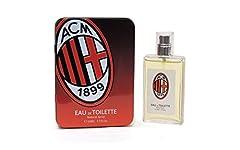Idea Regalo - EDT Milan Natural Spray 50 ml  Gadget  Prodotto Ufficiale Profumo in  Scatola di  Latta
