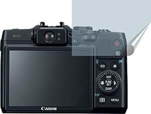 2x Canon PowerShot G16 ENTSPIEGELNDE Displayschutzfolie Bildschirmschutzfolie von 4ProTec - Nahezu blendfreie Antireflexfolie