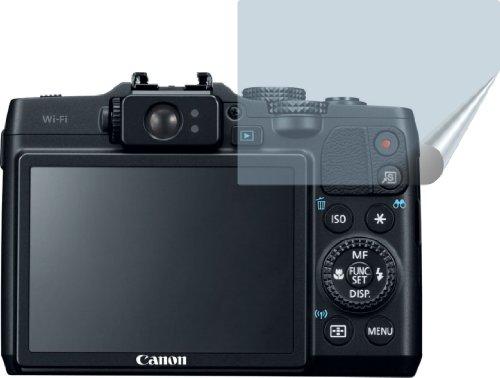 16 Displayschutzfolie Bildschirmschutzfolie kristallklar von 4ProTec (Canon G16 Kameratasche)