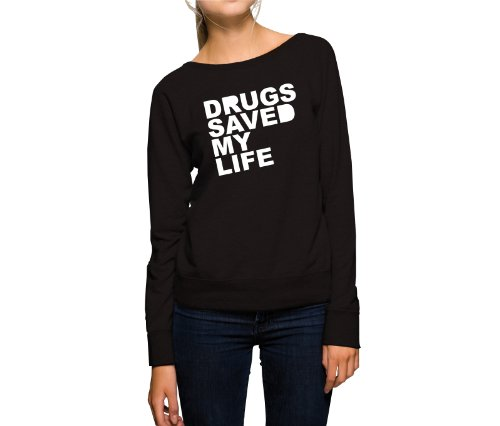 drugs-saved-my-life-sweater-girls-noir-xl