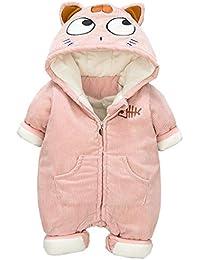Bebé Mameluco Invierno Mono Vellón Peleles Unicornio Pijamas