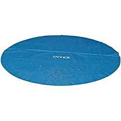 Intex Solarfolie für Quick-up- (Easy Set) und Metallrahmen-Pools, blau, Ø 366 cm