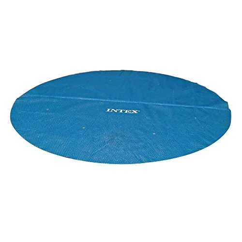 Intex Solar Abdeckplane für Ø 18 ft Easy Set und Frame Pools 16-Foot blau - 16' Solar Blanket