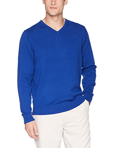 Cutter & Buck Herren Machine Washable Lakemont V-Neck Sweater Pullover, Bolt, XX-Large -