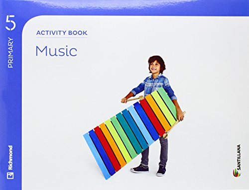 MUSIC 5 PRIMARY ACTIVITY BOOK - 9788468086729 por Aa.Vv.