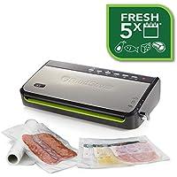 Foodsaver FFS005X-01 Envasadora al vacío 140 W, Plata y Negro