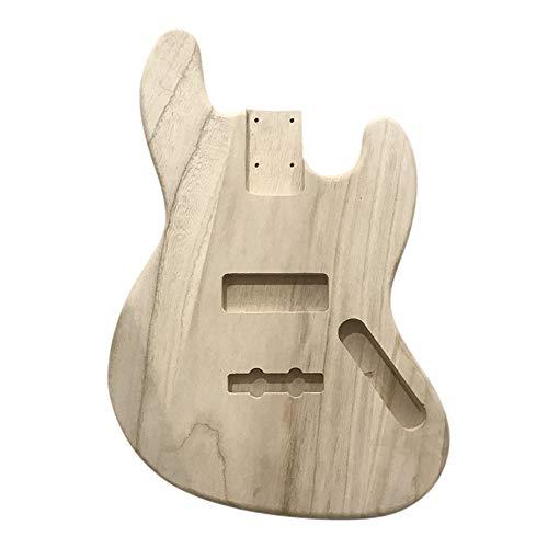 Polierte Holz-finish (Poliert holz typ e-gitarre barrel diy elektrische ahorn gitarre barrel körper für jb stil bass gitarre)