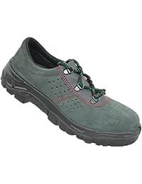 Chaussures de sécurité s1P chaussures de travail vert berufsschuhe plat imperfections - Vert - Vert, 36 EU