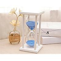 pengweiCreative Time regalo decoraciones de reloj de arena de 30 minutos de casas de cumpleaños , 1