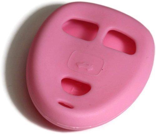 dantegts-pink-silikon-schlusselanhanger-schutzhulle-smart-fernbedienung-beutel-schutz-schlussel-kett