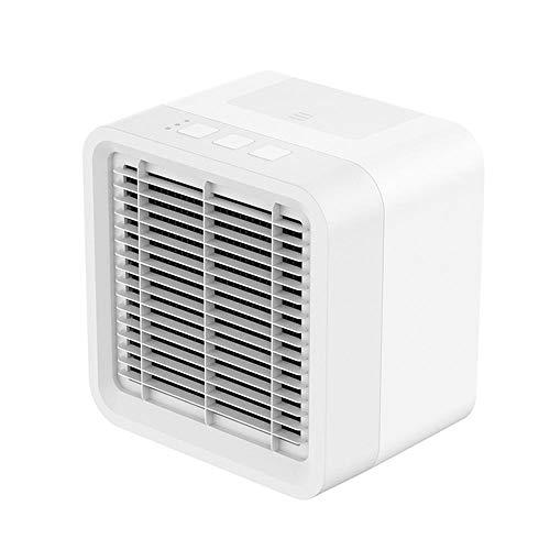 leegoal Mini Mobile Klimageräte Luftkühler Air Cooler Luftbefeuchter Luftreiniger mit USB Anschluß klimaanlage für Büro, Camping und Zimmer(375ml)