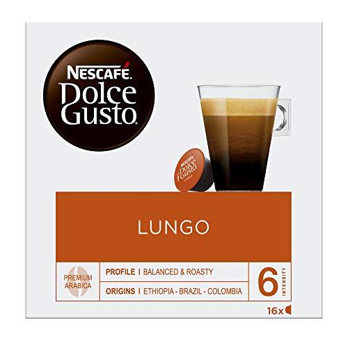 NESCAFÉ Dolce Gusto Café Lungo | Pack de 16 Cápsulas