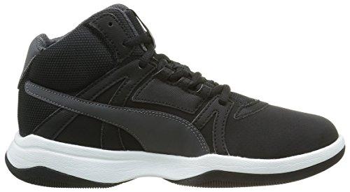 Puma Jungen Rebnd Street Evo Sl Sneaker Schwarz - Noir (Black/Asphalt)