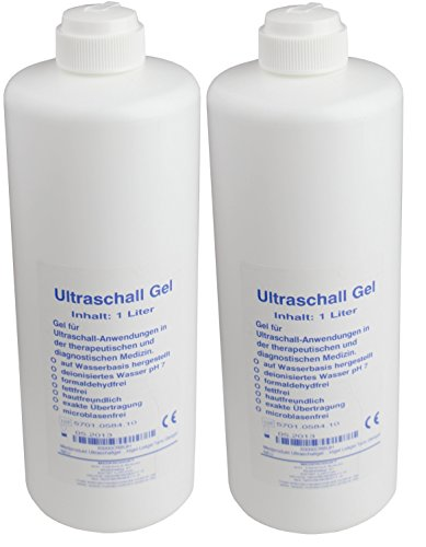 2x 1000 ml Come contattare con Gel Medprodukt per DA Gymnic medico Gel per ultrasuoni Come Contattare Con Gel Gel Conduttivo Gel per ultrasuoni