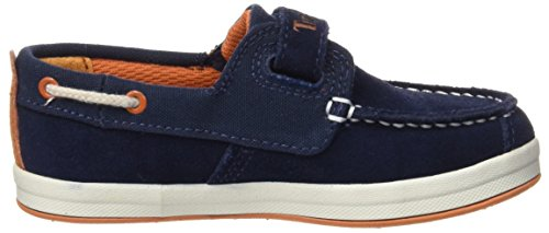 Timberland Unisex-Kinder Dover Bay H&L Boatblack Bootsschuhe, Blau  (Black Iris Suede with Orange), 29 EU -