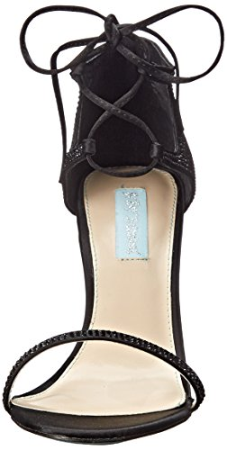 Betsey Johnson Gabi Textile Sandale Black