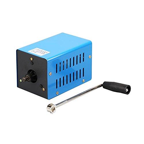Festnight Outdoor 20 Watt Multifunktions Tragbare Handkurbel Generator Manuelle Kurbel-Generator Stromerzeuger Notfall Überlebens Stromversorgung Low-voltage-tv
