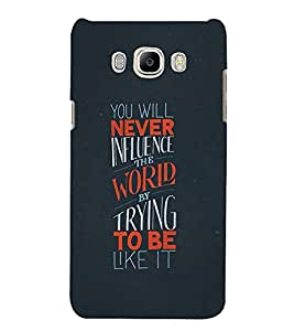 PrintVisa Designer Back Case Cover for Samsung Galaxy On8 Sm-J710Fn/Df (Amazing quote design :: Stylish letter design :: Beautiful quatation :: Nice quatation :: Simple quote design)
