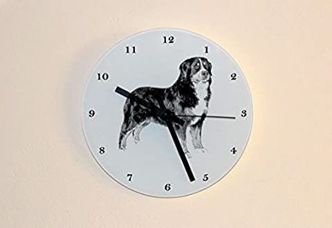 Bernese Mountain Dog, wall clock with dog, hanging home decoration
