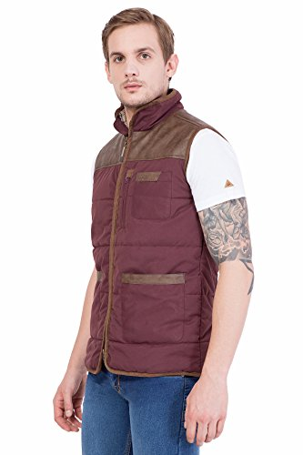 JUMP USA Men's Half Sleeve Zipper Jacket