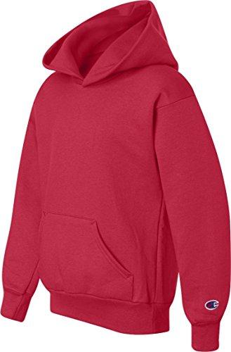 Champion Mens 50/50 EcoSmart Pullover Hood (S700) Rouge - Rouge écarlate