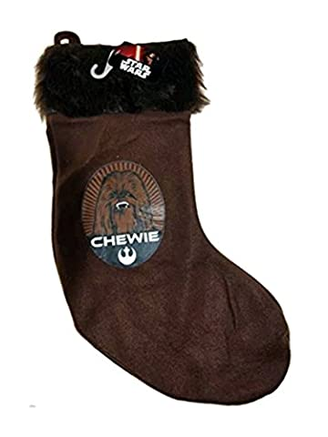 Disney Star Wars Christmas Stocking - Chewie Chewbacca Xmas Stocking - New