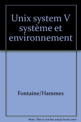 Unix system V système et environnement