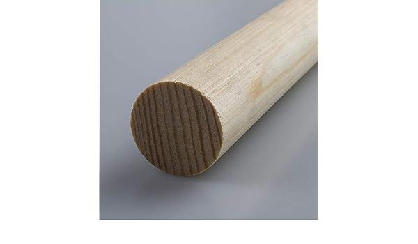 Rundstab Bastelstab Bastelleiste Holzstab aus Kiefer-Massivholz /Ø 18 mm 2100 mm