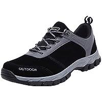LILICAT☃ Calzado Deportivo de Hombre Transpirable con Cordones para Correr Zapatos para Caminar Zapatos al Aire Libre con Cordones cómodos Zapatos cómodos para montañismo