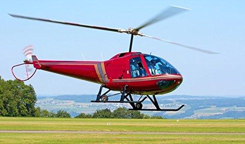 Gourmet Hubschrauber Rundflug zu zweit in Leipzig
