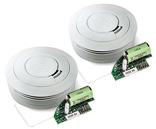 Ei Electronics Ei650RF 10-Jahres-Funkrauchmelder, 2 Stück
