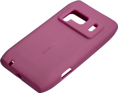 Nokia CC-1005 Silicone CASE N8 Purple Custodie